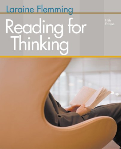 Reading for Thinking: Laraine E. Flemming