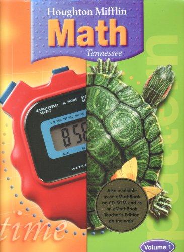 9780618529117: TN Math- Grade 4, Volume 1, Teachers Edition