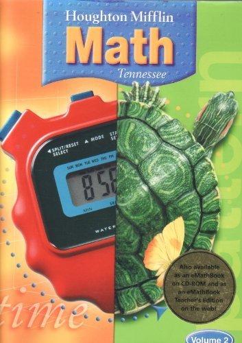 9780618529124: TN Math- Grade 4, Volume 2- Teachers Edition