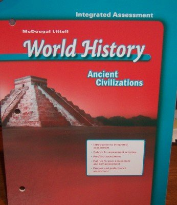 9780618529964: Integrated Assessment (World History: Ancient Civilizations)