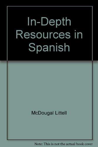 In-Depth Resources in Spanish: McDougal Littell-World History-Ancient: McDougal Littell