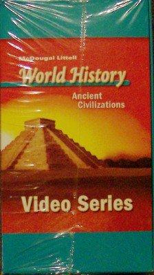 9780618530526: McDougal Littell World History: Ancient Civilizations: VHS Series