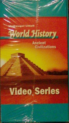 9780618530526: McDougal Littell World History: Ancient Civilizations: VHS Series