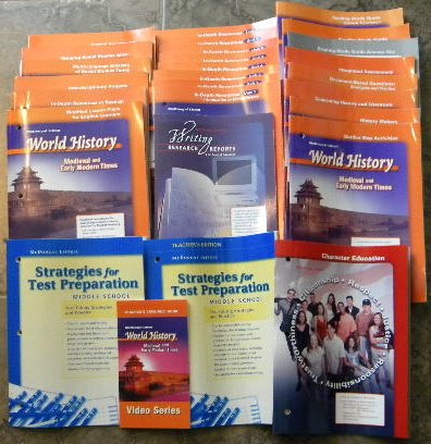 9780618530557: McDougal Littell World History: Medieval and Early Modern Times: Teacher Resource Package