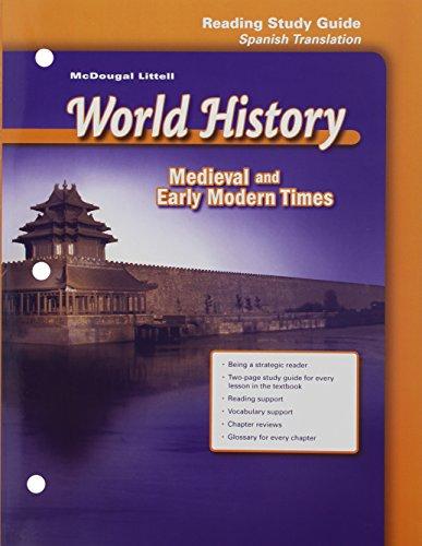 McDougal Littell World History: Reading Study Guide: MCDOUGAL LITTEL