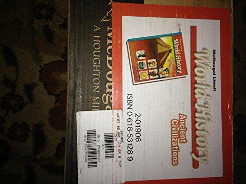 9780618531288: McDougal Littell World History: Ancient Civilizations: Teacher Resource Package