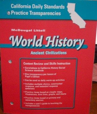 McDougal Littell World History California: Daily Standards: MCDOUGAL LITTEL