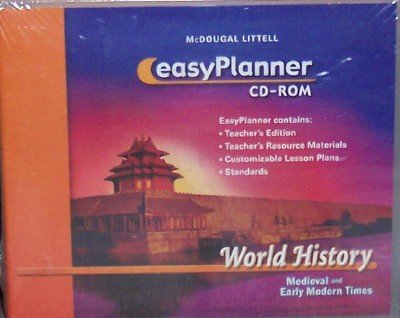 9780618531561: McDougal Littell World History: Medieval and Early Modern Times: EasyPlanner DVD-ROM