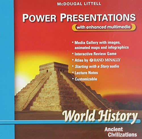 9780618532896: McDougal Littell World History: Power Presentations Grade 6 Ancient Civilizations (McDougal Littell World History: Ancient Civilizations)