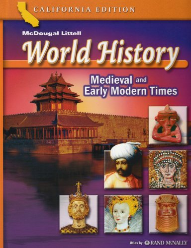 9780618532940: McDougal Littell World History: Student Edition Grades 7 Medieval and Early Modern Times 2006