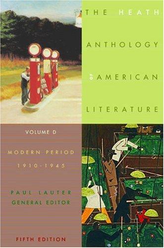9780618533008: The Heath Anthology of American Literature: Volume D: Modern Period (1910-1945)