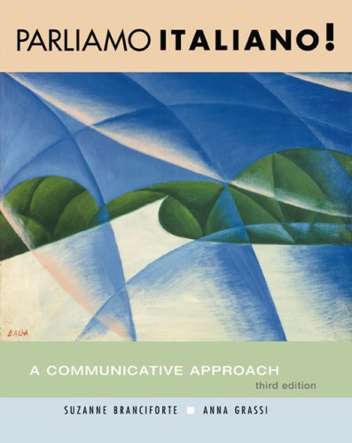 Parliamo Italiano. A Communicative Approach 3rd Edition