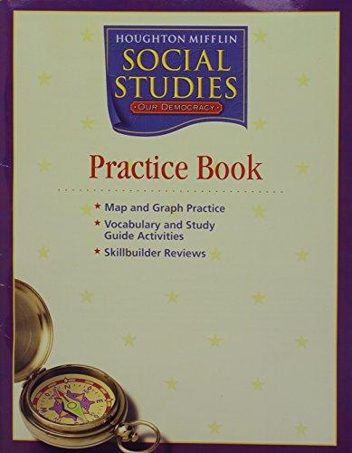 9780618533756: Houghton Mifflin Social Studies Georgia: Practice Book Consmbl L3