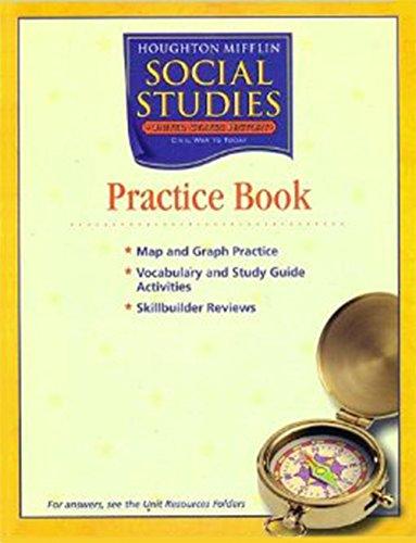 9780618533770: Houghton Mifflin Social Studies Georgia: Practice Book Consmbl L5