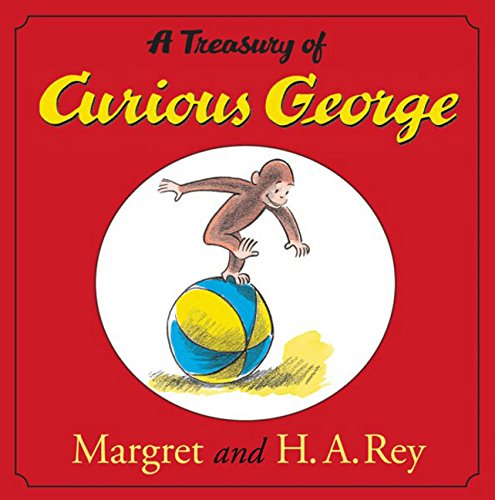 9780618538225: A Treasury of Curious George