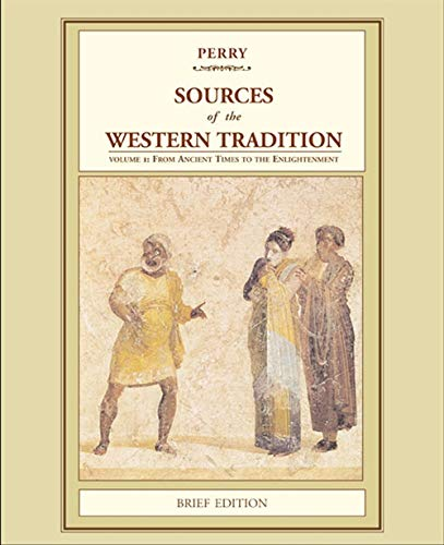 9780618539017: Sources of the Western Tradition: Volume 1: From Ancient Times to the Enlightenment, Brief Edition