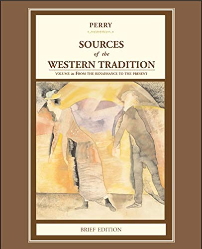 9780618539031: Sources of the Western Tradition: Volume 2: From the Rennaissance to the Present, Brief Edition