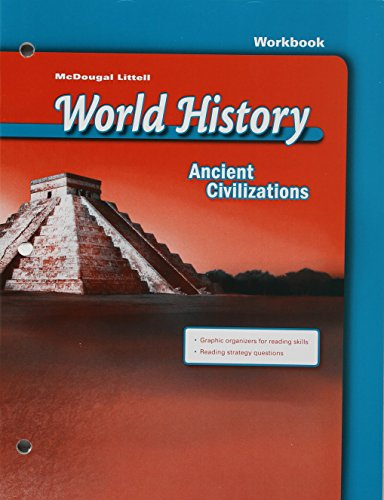 9780618539253: McDougal Littell World History: Ancient Civilizations: Workbook