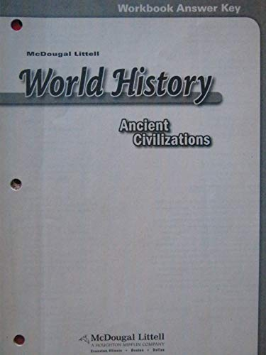 McDougal Littell World History: Ancient Civilizations: Workbook: MCDOUGAL LITTEL