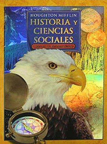 9780618539901: Houghton Mifflin Historia y Ciencias Sociales: Libro del estudiante Grade 5 2006 (Spanish Edition)