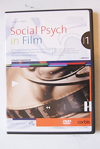 9780618539956: Brehm Social Psychology Dvd In Film Sixth Edition