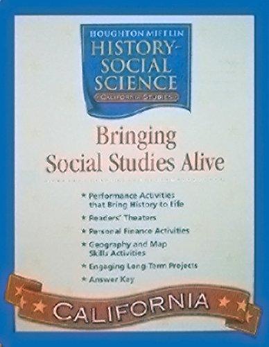 9780618540686: Houghton Mifflin Social Studies California: Bringing Ss Alive Lvl 4