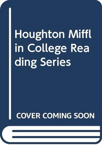 9780618541898: Houghton Mifflin College Reading Series