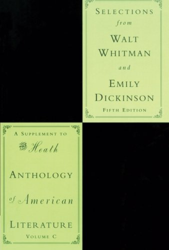 9780618542475: Selections From Walt Whitman And Emily Dickinson