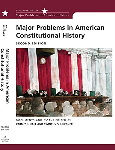 9780618543335: Major Problems in American Constitutional History: Documents and Essays (Major Problems in American History Series)