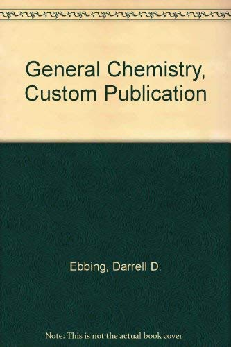 9780618543458: General Chemistry, Custom Publication