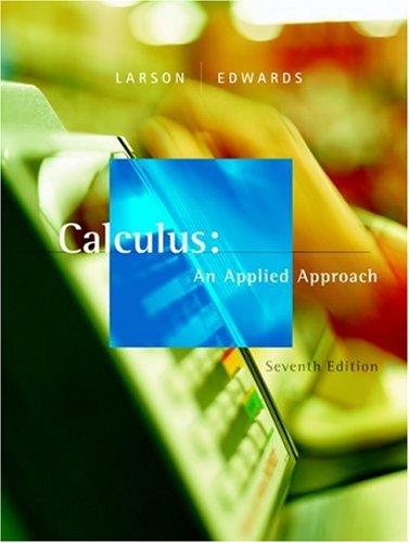 9780618547180: Calculus: An Applied Approach
