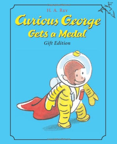9780618549061: Curious George Gets a Medal Gift Edition [With Curious George Medal]