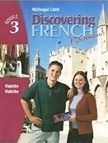9780618551804: Discovering French, Nouveau!: Take-Home Tutor CD-ROM (5-Pack) Level 2