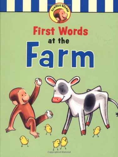 9780618554553: Curious George's First Words at the Farm