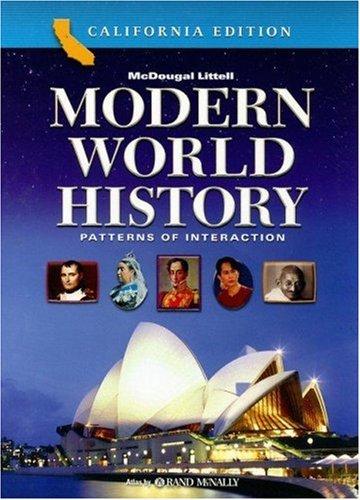 9780618557158: Modern World History: Patterns of Interaction, California Edition