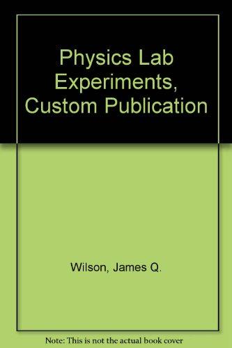 9780618558698: Physics Lab Experiments, Custom Publication