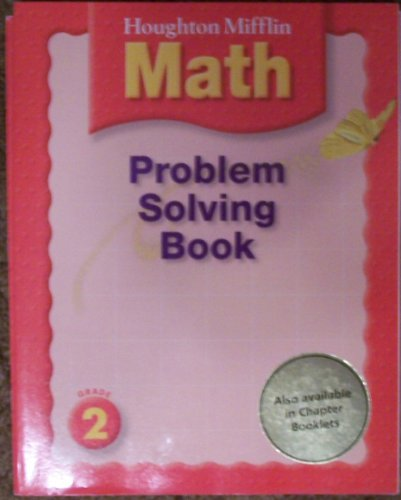 Problem Solving Book - Grade 2 (Houghton Mifflin Math)