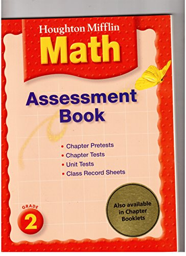 9780618559022: Assessment Book - Grade 2 (Houghton Mifflin Math)