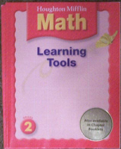 Houghton Mifflin Math Learning Tools - Grade 2: not given