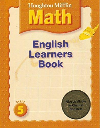 Houghton Mifflin English Learners Book Grade 5: Houghton Mifflin