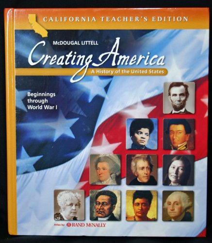 9780618559510: Creating America: A History of the United States, Beginnings Through World War 1