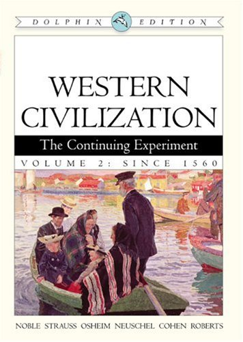 9780618561926: Western Civilization: the Continuing Experiment Volume II (v. 2)