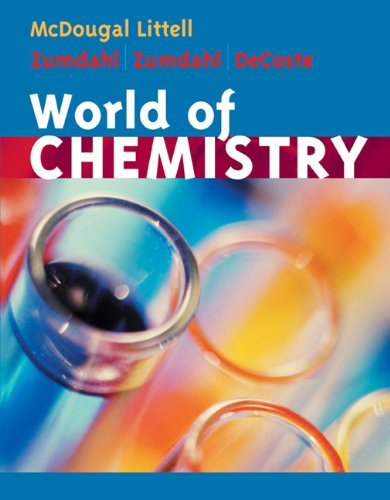 9780618562756: World of Chemistry