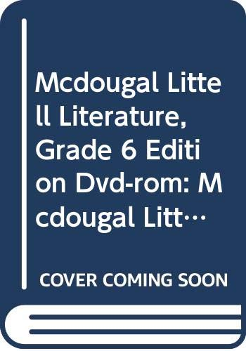 9780618564828: McDougal Littell Literature: eEdition DVD-ROM Grade 6 2008