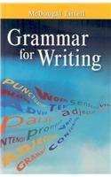 9780618566167: McDougal Littell Literature: Grammar for Writing Grade 6