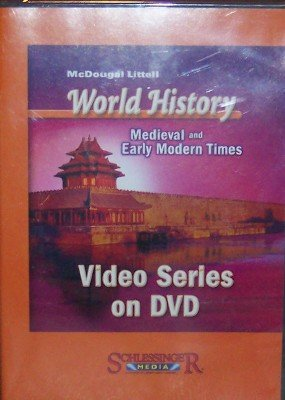 9780618570041: McDougal Littell World History: Medieval and Early Modern Times: DVD Series