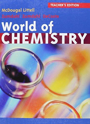 9780618570591: World of Chemistry Update: Teacher Edition