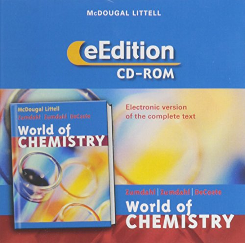 World of Chemistry: Zumdahl, Steven S.; Zumdahl, Susan A.