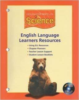 Houghton Mifflin Science: English Language Learners Resources: HOUGHTON MIFFLIN