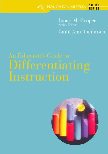 9780618572830 An Educators Guide To Differentiating Instruction